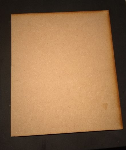 mdf craft boards sheets pieces offcuts 180 mm x 155 mm 3 mm thick laser cut